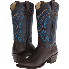 Stetson - 13 Shaft Single Welt Snip Toe Embroidered Shaft Boot