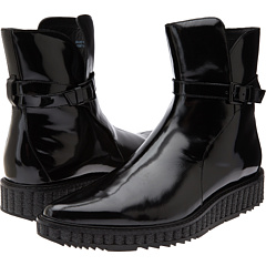 Pierre Balmain - Patent Leather Lug Boot