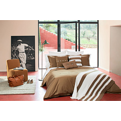 Lacoste - Brushed Twill Solid Twin Comforter Set