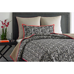 Vince Camuto - Key Biscayne Printed Coverlet - King