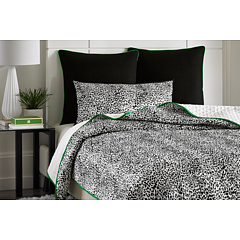 Vince Camuto - Monte Carlo Printed Coverlet - King