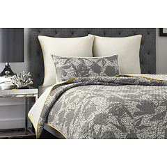 Vince Camuto - Berlin Printed Coverlet - King