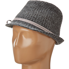 Hat Attack - Knit Fedora w/ Sueded Tie