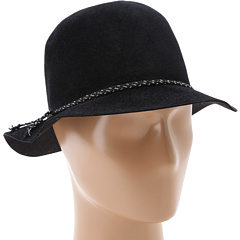 Hat Attack - Velour Felt Crusher w/ Cord/Chain Braid Trim