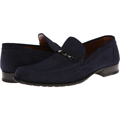 a. testoni - Barbour Suede Loafer with Bit