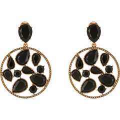 Oscar de la Renta - Round Multi Stone Earrings