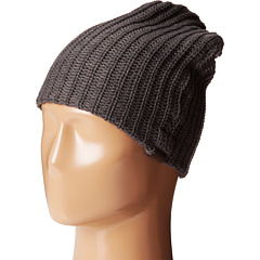 San Diego Hat Company - KNH3324 Cable Knit Beanie with Suede Tab
