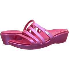 Crocs - Rhonda Wedge Sandal Iridescent