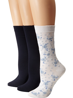HUE - Femme Top Sock 3-Pair Pack
