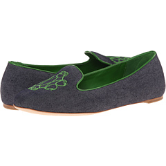 Johnston & Murphy - Riley Embroidered Slipper