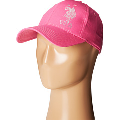 U.S. POLO ASSN. - Rhinestone Logo Adjustable Baseball Cap