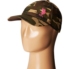 U.S. POLO ASSN. - Camo Adjustable Baseball Cap